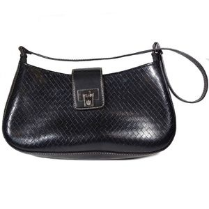 Liz Claiborne Black Shoulder Bag Lots of Space